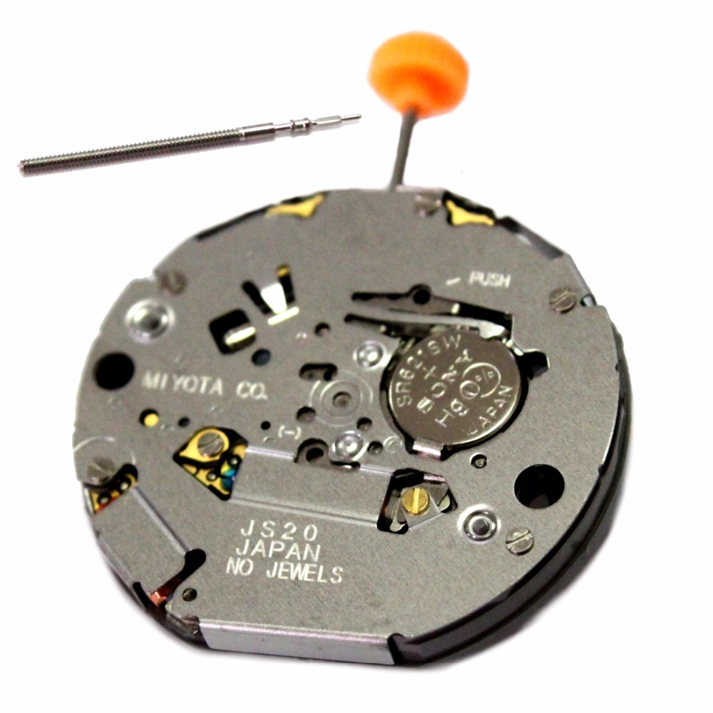 MIYOTA JS20 Quartz Watch Movement with Day At 3 Position MO1057A zоом 3 day white with acp excel 3