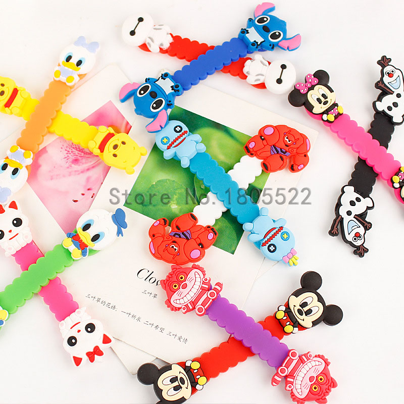 New Arrival Good Gift Cartoon Earphone Cable Wire Organizer Headphone Headset USB Charge ...
