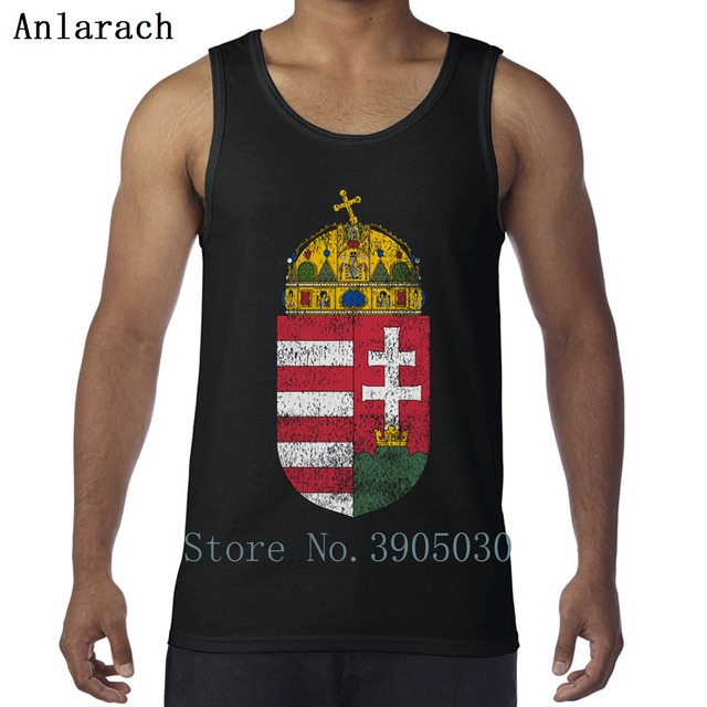 Hungarian Coat Of Arms Hungary Symbol Vest Crazy Sportswear