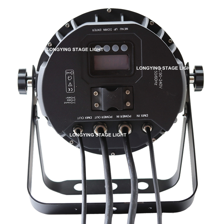 Free Shipping 4pcs/Lot Waterproof LED Par 19x12w RGBW 4IN1 Zoom LED PAR Light Par Can IP65 Outdoor Stage Lights DJ DMX512