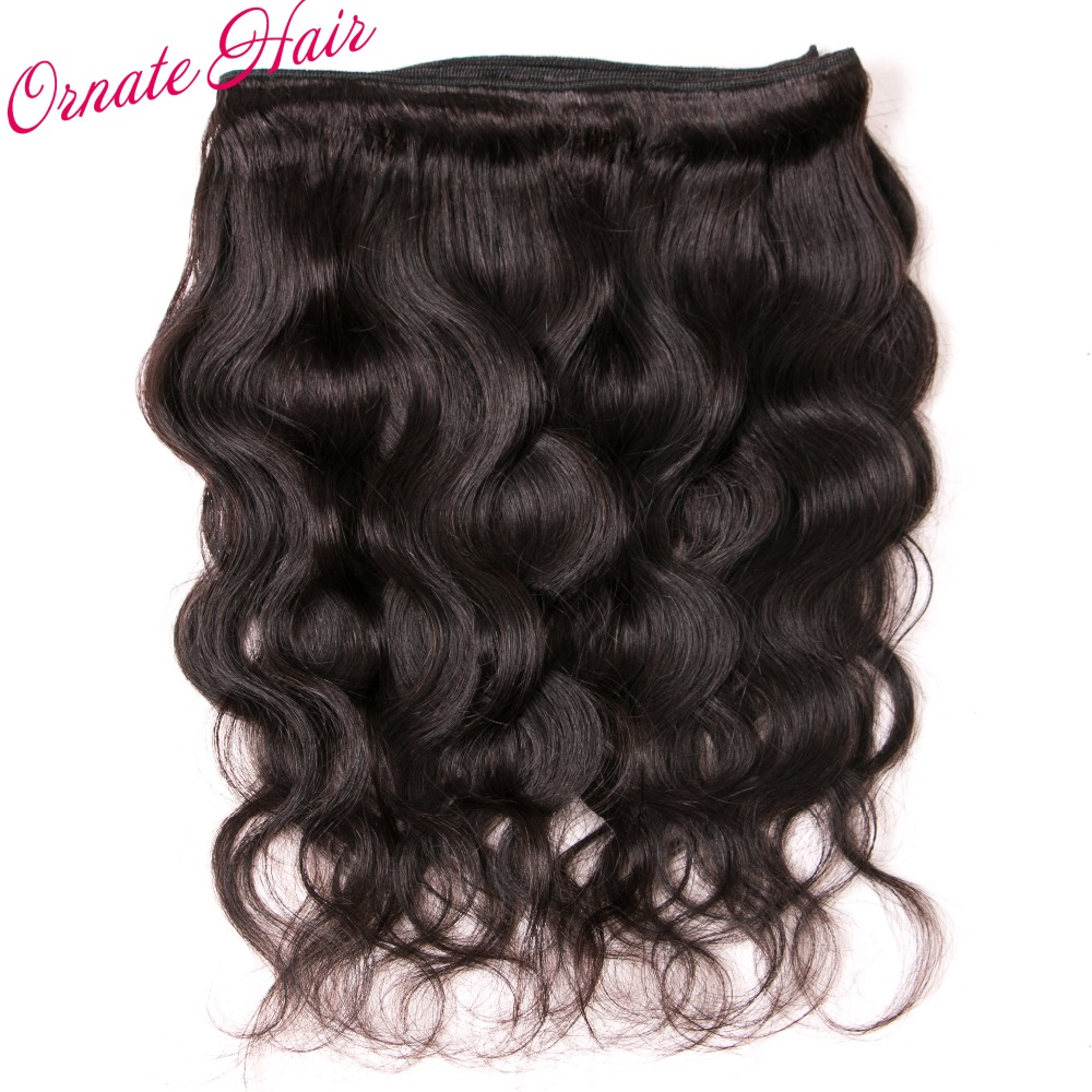 Ornate Hair Brazillian Hair Bodywave 4 Bundles With Closure Ear To Ear Lace Frontal Closure With Bundles Brazilian Virgin Hair