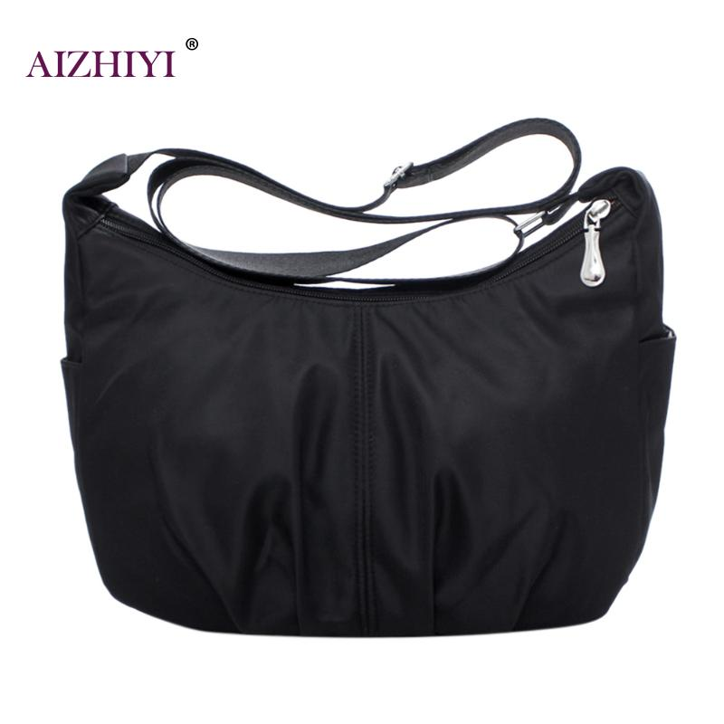 2018 Women Messenger Bags Nylon Waterproof Travel Casual Clutch Bolas Large Capacity Crossbody Bags Carteira Hobos Shoulder Bags2018 Women Messenger Bags Nylon Waterproof Travel Casual Clutch Bolas Large Capacity Crossbody Bags Carteira Hobos Shoulder Bags