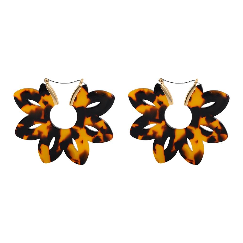 resin earrings, acrylic earrings, hoops, cheetah prints ...