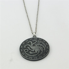 Game Of Thrones Logo Stainless Steel Pendant