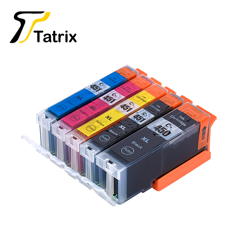 For Canon 450 451 PGI-450 CLI-451 Compatible Ink Cartridge For Canon PIXMA MG5440 MG5540 MG6340 MG6440 MG7140 Ip7240 MX924 картридж canon pgi 450 pgbk xl для pixma ip7240 mg6340 mg5440