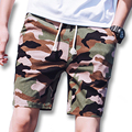 2017 Men Floral Board Shorts Trunks Sweatpants Men's Casual Fashion Slim Fits Knee Length Active Beach Shorts Outwear Hombre