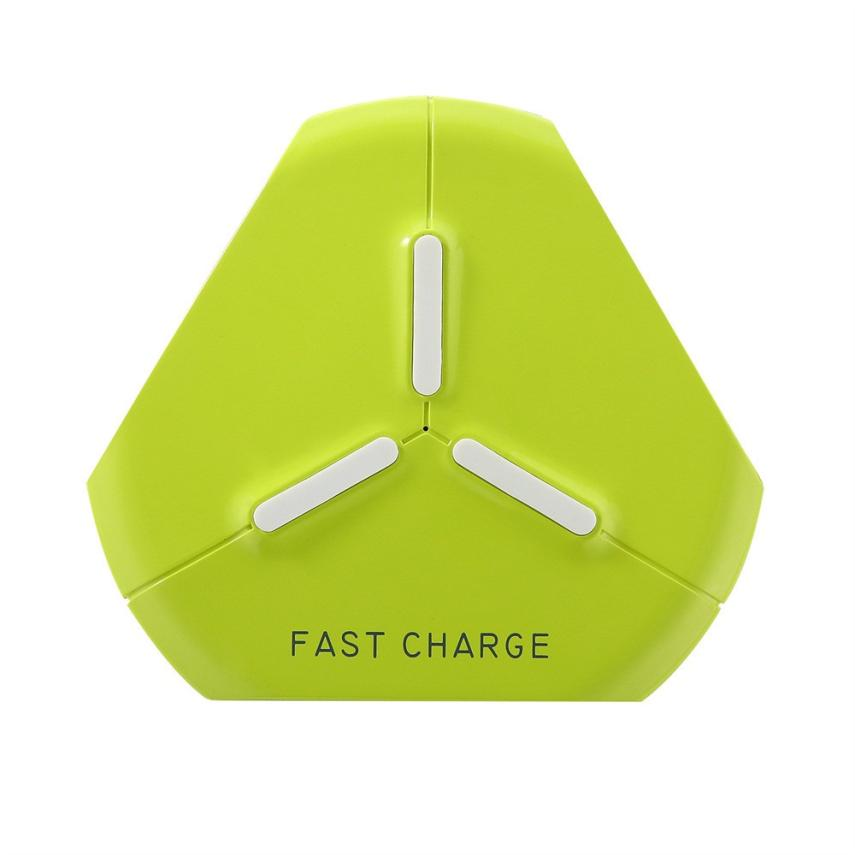 HL 2018 New Breathing Light Qi Fast Wireless Charger Fast Charging For Iphone 8/8 Plus/X drop shipping sep26