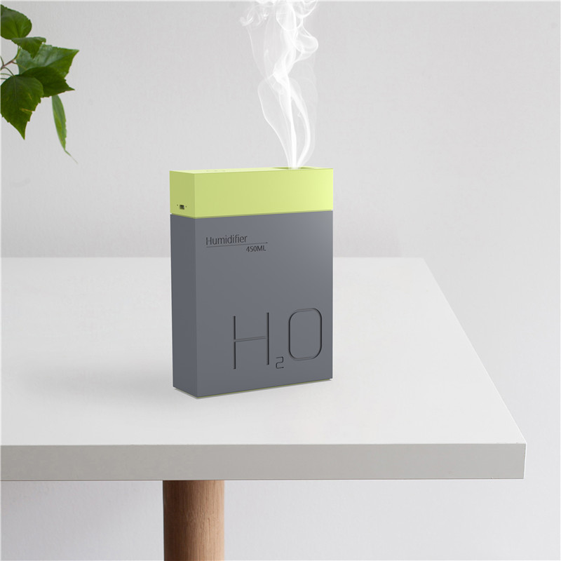 BOMEINENG 450ml Air Humidifier Essential Oil Diffuser Aromatherapy Electric Aroma Diffuser Mist Maker Humidifier for Home Office