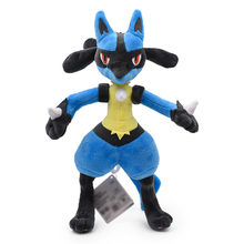 купить 12inch 30CM Lucario Plush Toys Soft Dolls Stuffed Kids Present по цене 676.06 рублей
