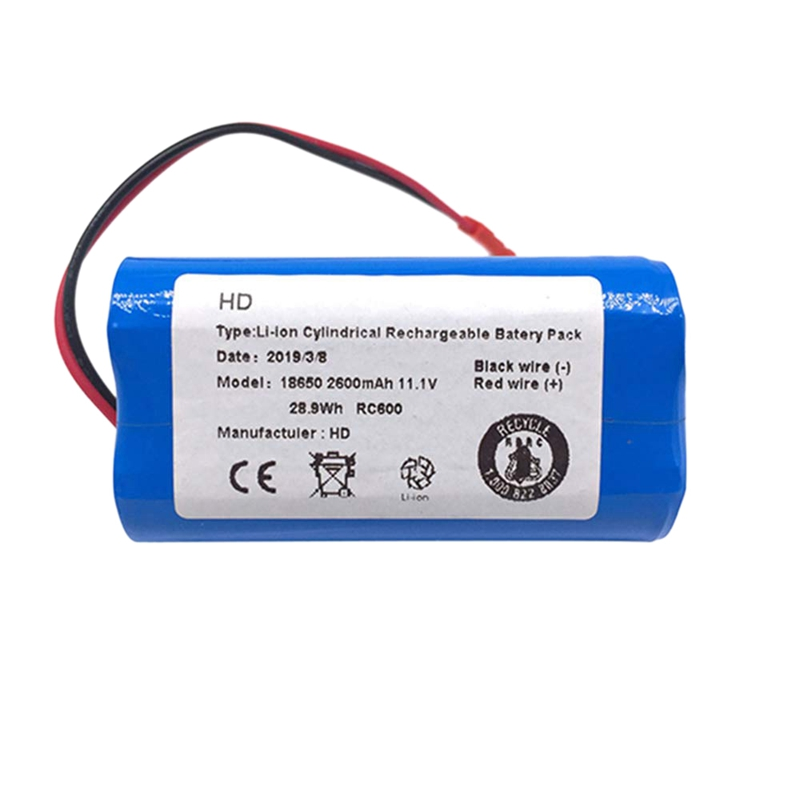 Hot Sale Li-Ion Battery Spare Parts For Chuwi Ilife X3 V3 V5 V5 V5S V5S Cw310 V7 Ecovacs Deebot Cen250 11.1 V 2600 Mah