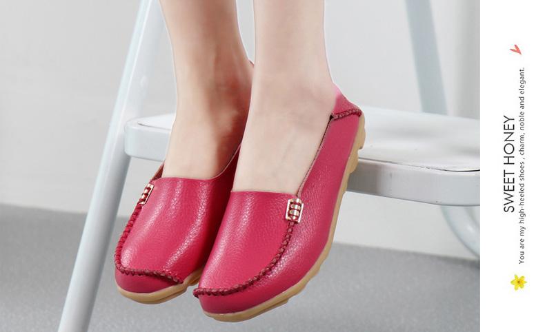 AH912 (24) women's loafers shoe