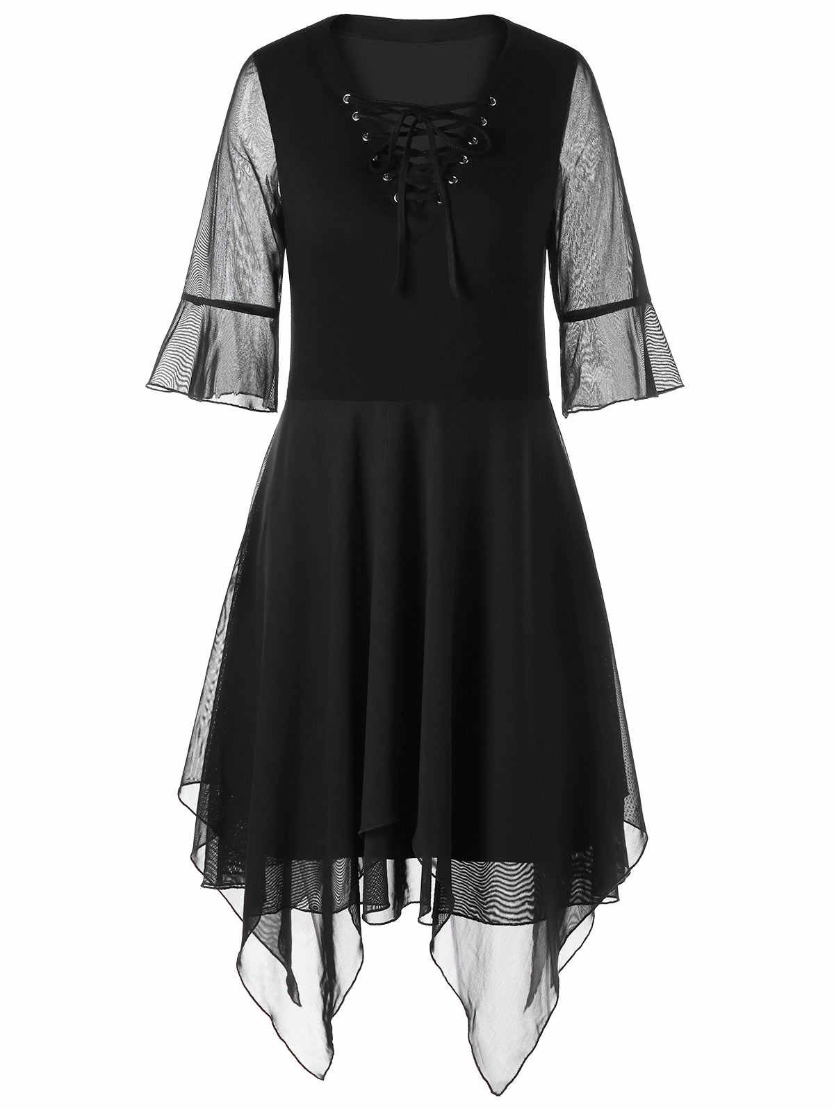 Wipalo Для женщин Винтажные наряды 2018 Vestidos De Festa рукав «фонарик» модельные туфли на шнуровке сатин платок носовой платок, сексуальное платье с v-образным вырезом, вечерние платье Повседневное Стиль