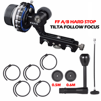 Tilta Follow Focus With FF A B Hard Stop With Speed Crank Handle 0 5m 0