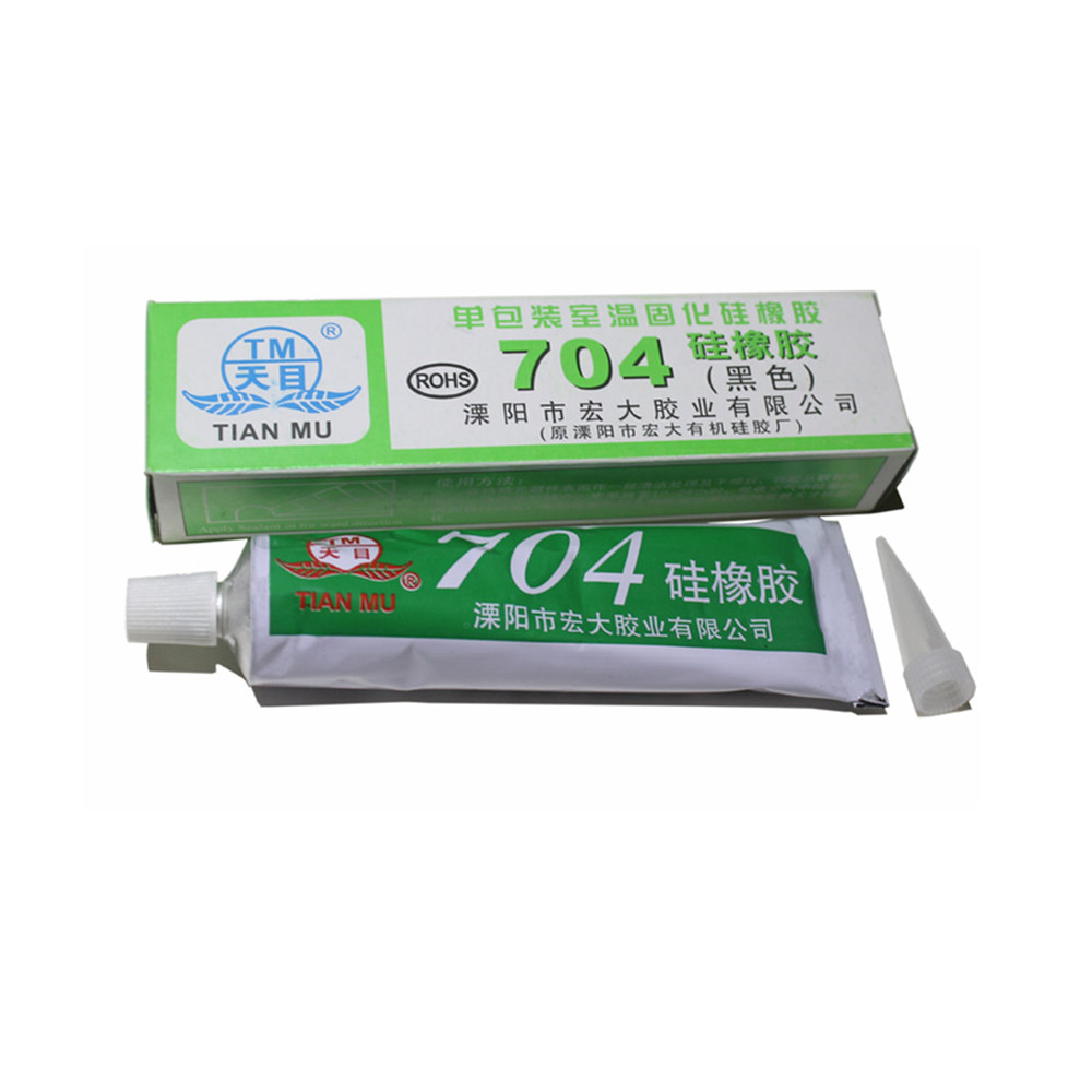 704 fixed high temperature resistant silicone rubber insulated sealing glue 704 waterproof silicone thermal conductive ...