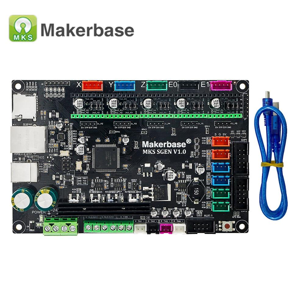 3D Printer Parts Controller Board MKS Sgen Smoothieboard 32Bit Open Source  Runs Smoothieware mks sbase upgraded