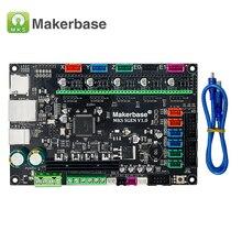 3D-принтер части платы контроллера MKS Sgen Smoothieboard 32Bit с открытым исходным кодом работает сглаживает mks sbase обновленная