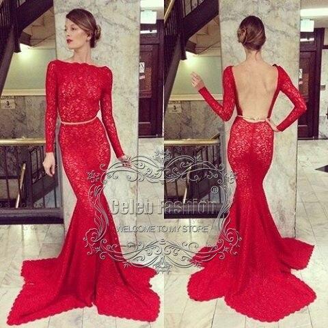 Modelo de vestidos de noche 2017