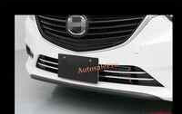 Chrom Kühlergrill Grille Untere Abdeckung Trim Dekoration Für Mazda Atenza / M6 2015 2013 2014