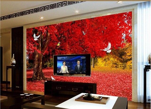Lieblich 3d Wandbilder Wallpaper Für Wohnzimmer Dekoration Mangrove Tauben Tapete  Für Malerei