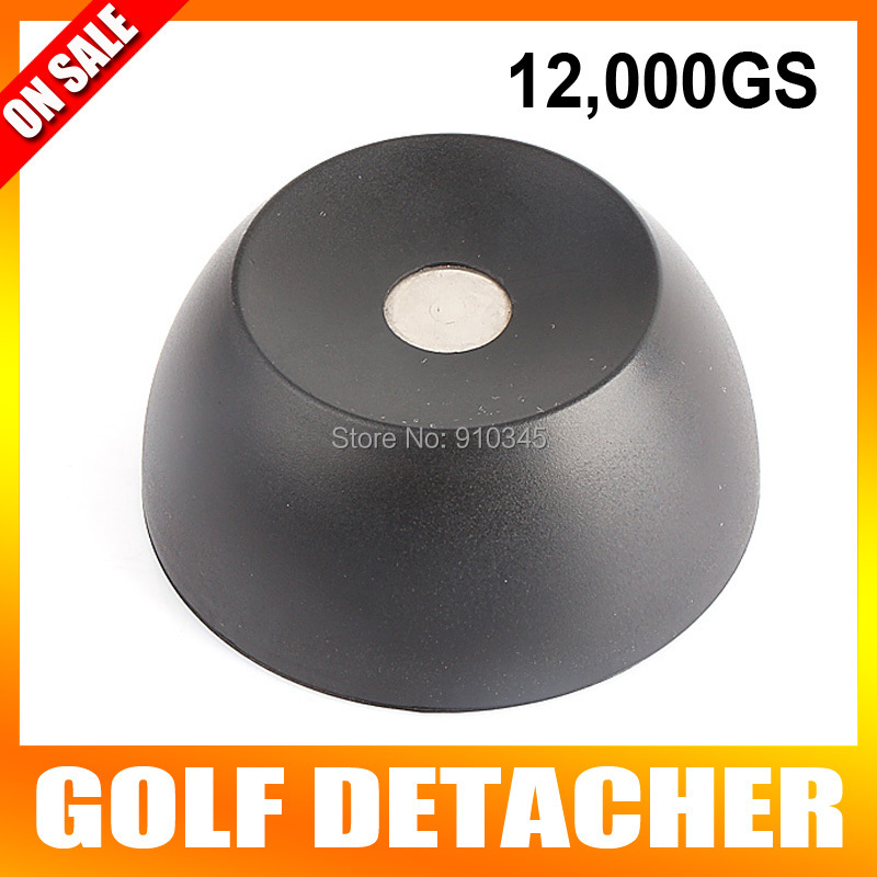 New Arrival Super Golf Detacher Security Tag Detacher EAS Tag Remover Magnetic Intensity 12000GS plastic Material Color Black 20000gs golf detacher security tag remover opener unlock eas tag detacher anti theft unlocking device strong magnetic force