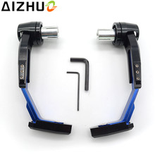 Motorcycle Handguard CNC Aluminum Brake Clutch Lever Guard Slider For Triumph Speed Triple 955 1050 Street Triple R/RX Tiger 800 стоимость