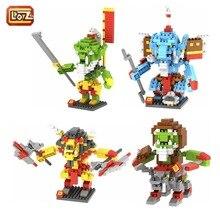 Blademaster/Hadow Hunter/Beastmaster Minifigures LOZ Bricks Diamond Building Blocks Intellectual Development Toys Minifigure