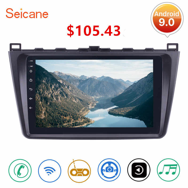 "Seicane 9"" 2din Android 9.0 Car Radio Wifi GPS Navigation Unit Player For Mazda 6 Rui 2008 2009 2010 2011 2012 2013 2014 2015"