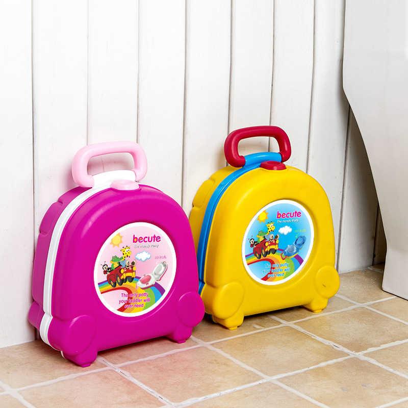 Детский унитаз, милый мультфильм, детские горшок, портативные дорожные автомобили, Детский горшок, туалет, Детский горшок, стул для тренировок, детское сиденье для унитаза для девочек и мальчиков