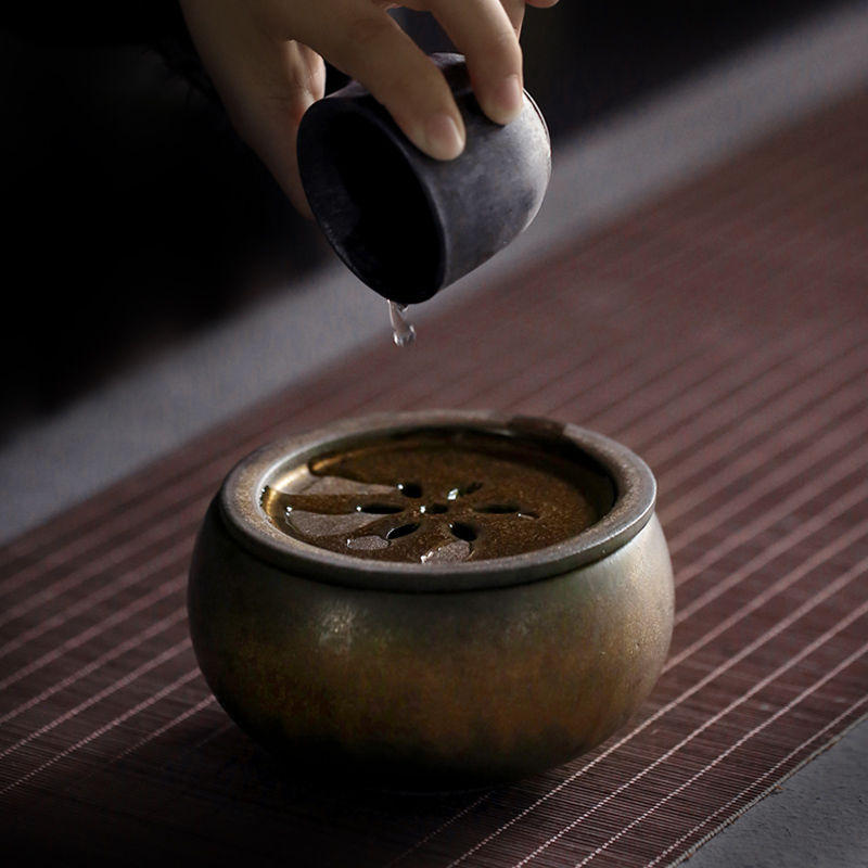 TANGPIN Ceramic Teapot Holder Tea Washer Porcelain Tea Accessories