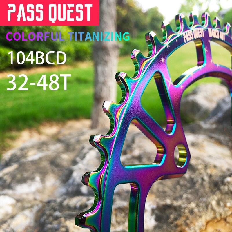 PASS QUEST 104 BCD chainrings Mountain Bbicycle crankset MTB bike crankset 32 48T