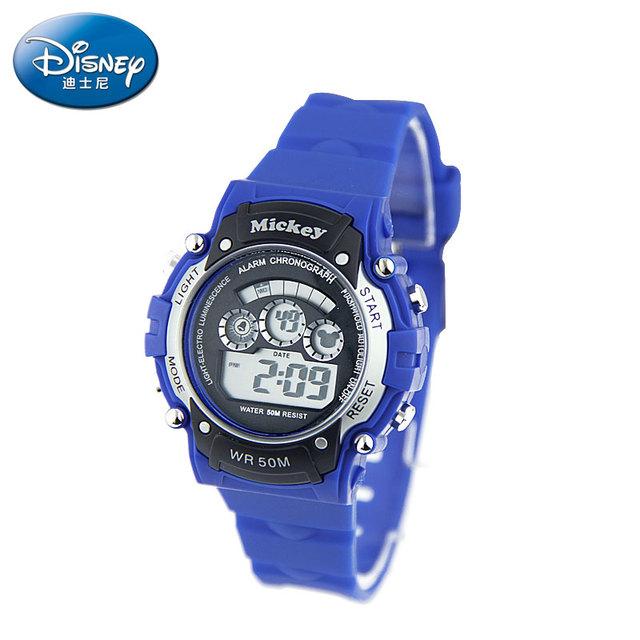 Disney Superventas Envío de la Nueva Moda A Prueba de agua Deportes Masculinos Luz LED de Pulsera Electrónica Reloj Relogio masculino