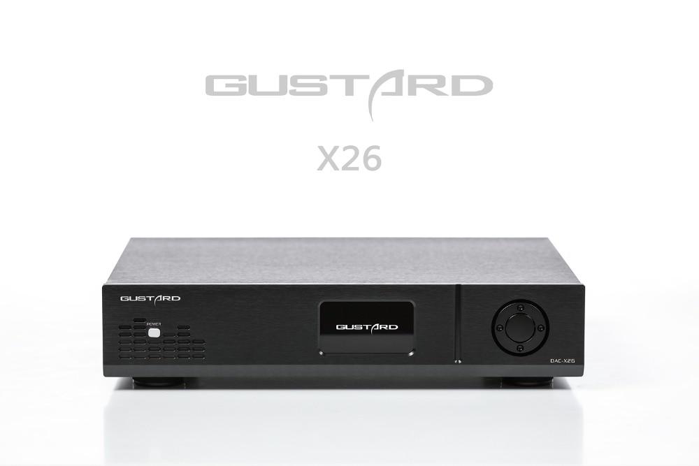 Tragbares Audio & Video Gustard Dac-x26 Dac Dual Es9038pro Dsp Pll Native Ausgewogene Decoder Digital-analog-wandler