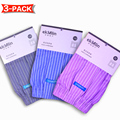 Woven 50s Combed yarn 100% Cotton 3-Pack Men's Boxers Shorts Underwear Striped Plaid Soft Loose breathable High Quality Brands