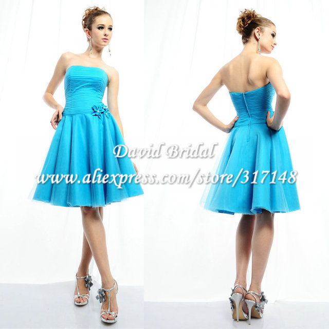 Holiday Sale YAG664 Western Style A Line Strapless Knee Length ...