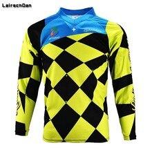 SPTGRVO LairschDan желтый черный enduro Moto GP с длинными рукавами горные Костюмы Велоспорт Даунхилл MTB para футболка BMX Гонки Джерси Для мужчин
