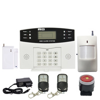 99 Wireless And 8 Wire Zones GSM Alarm System Home Security Alarm 433Mhz Burglar Alarm Anti