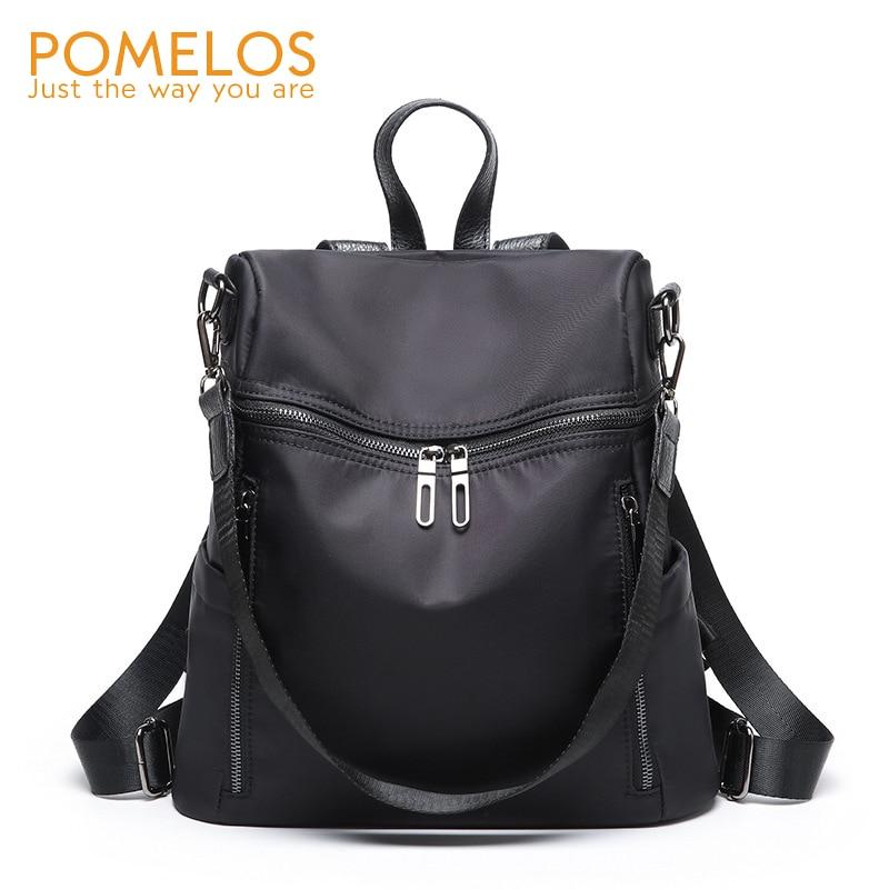POMELOS Brand 2018 Fashion Waterproof Oxford Women Backpack Purse Ladies Back Pack Bag Rucksack Female Casual Travel Backpacks
