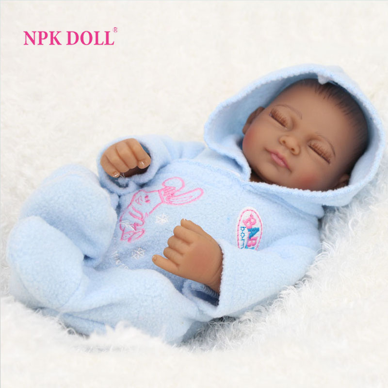 African american baby doll black boy realistic life like reborn newborn babies bonecas closed eyes in dolls from toys hobbies on aliexpress com alibaba