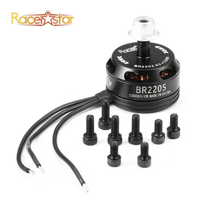 Free Shipping Racerstar Racing Edition 2205 BR2205 2300KV 2-4S Brushless Motor CW CCW Black For QAV250 ZMR250 260 RC Drone Frame touchstone teacher s edition 4 with audio cd