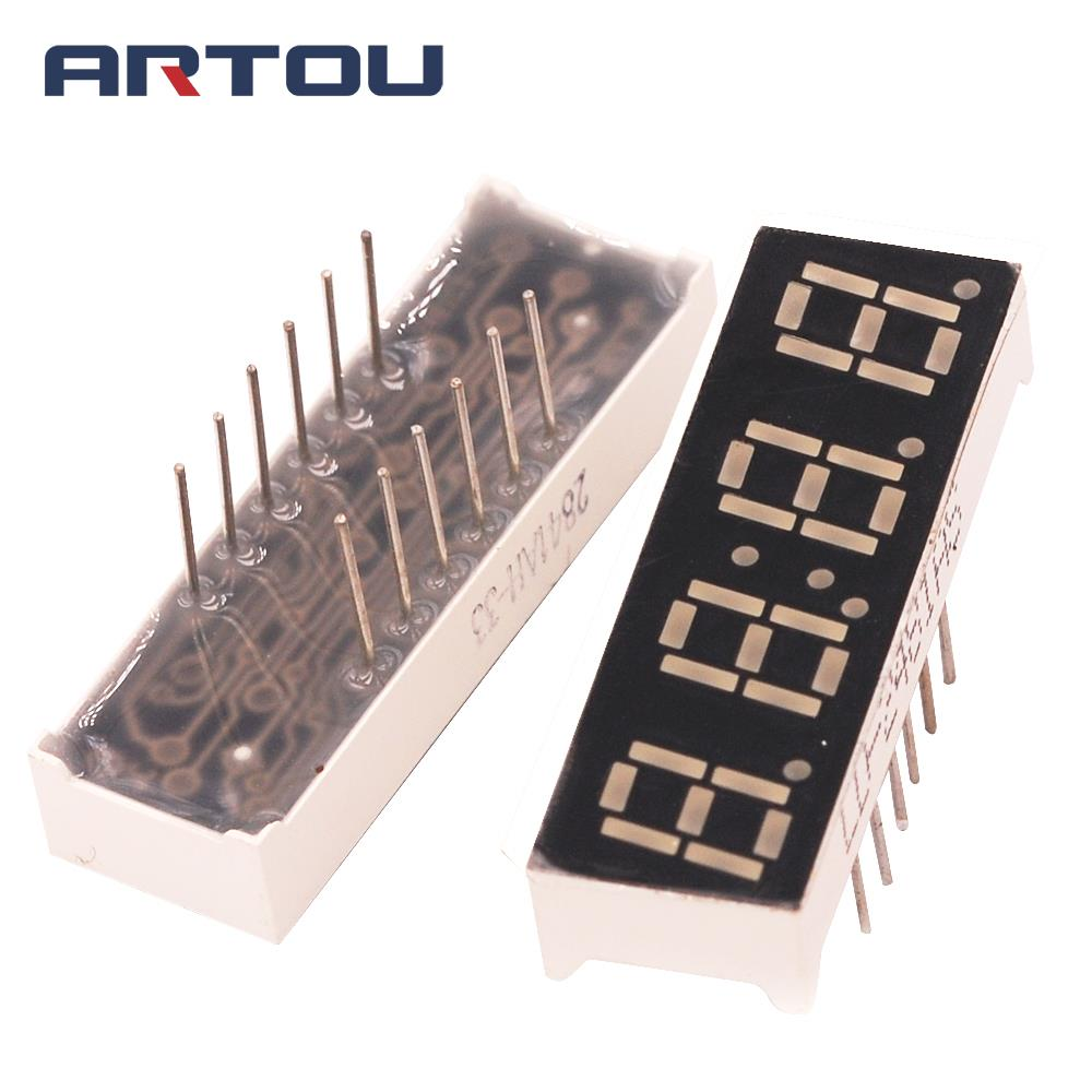10PCS 4Bit Digital Tube 7 Segment 0.28