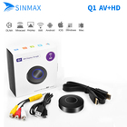 HD+AV output HDMI WiFi Miracast DLNA Airplay TV Stick Dongle Adapter Receiver Mirroring the Video Audio Picture devices to HDTV