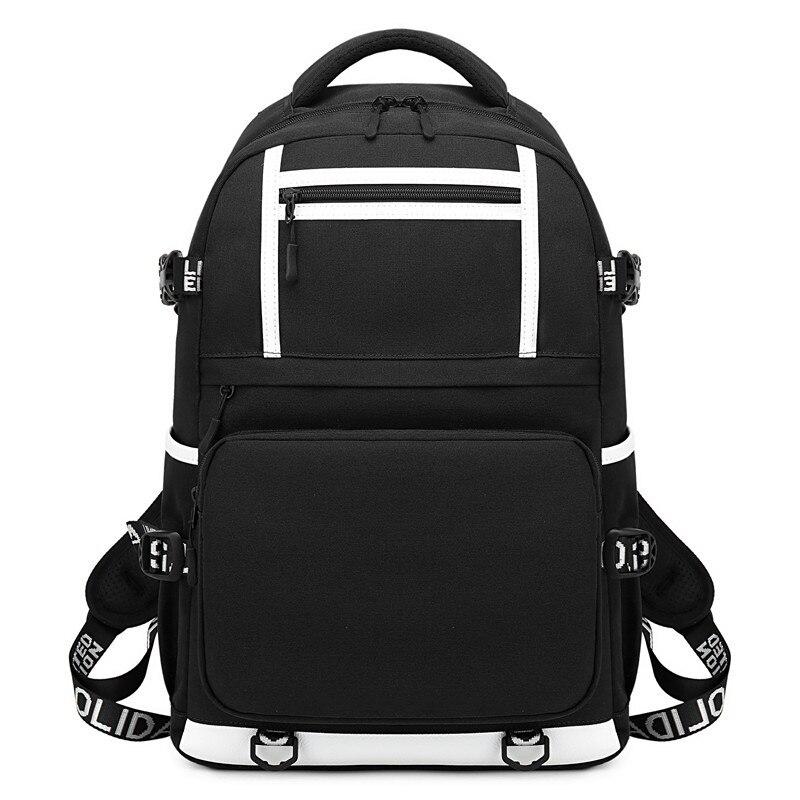 Wielofunkcyjne mężczyźni anty złodziej USB ładowania laptopa plecaki dla nastolatków mody mężczyzna mohyły Infantil plecak podróżny 900D Oxford w Plecaki od Bagaże i torby na  Grupa 1