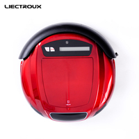 LIECTROUX Robot Vacuum Cleaner Q5 Multifunction Vacuum Sweep Sterilize Flavor LCD Timing Setting Self Charge Remote