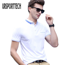 Summer Mens Polo Shirt Men Cotton Short Sleeve Camisas Male Business Casual Solid Slim Fit Shirts M-3XL