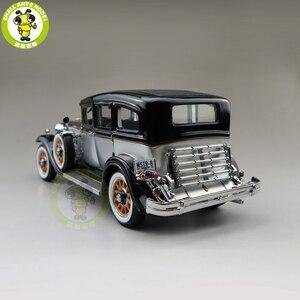 Image 2 - 1/18 auto mundo 1931 mestre peerless 8 sedan diecast modelo de carro brinquedos meninos meninas presente