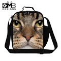 Cat Lunch Bags with shoudler straps,Boys Insulated Lunch Container,Teen Lunch box bag,Thermal food bag for kids,work lunch bag