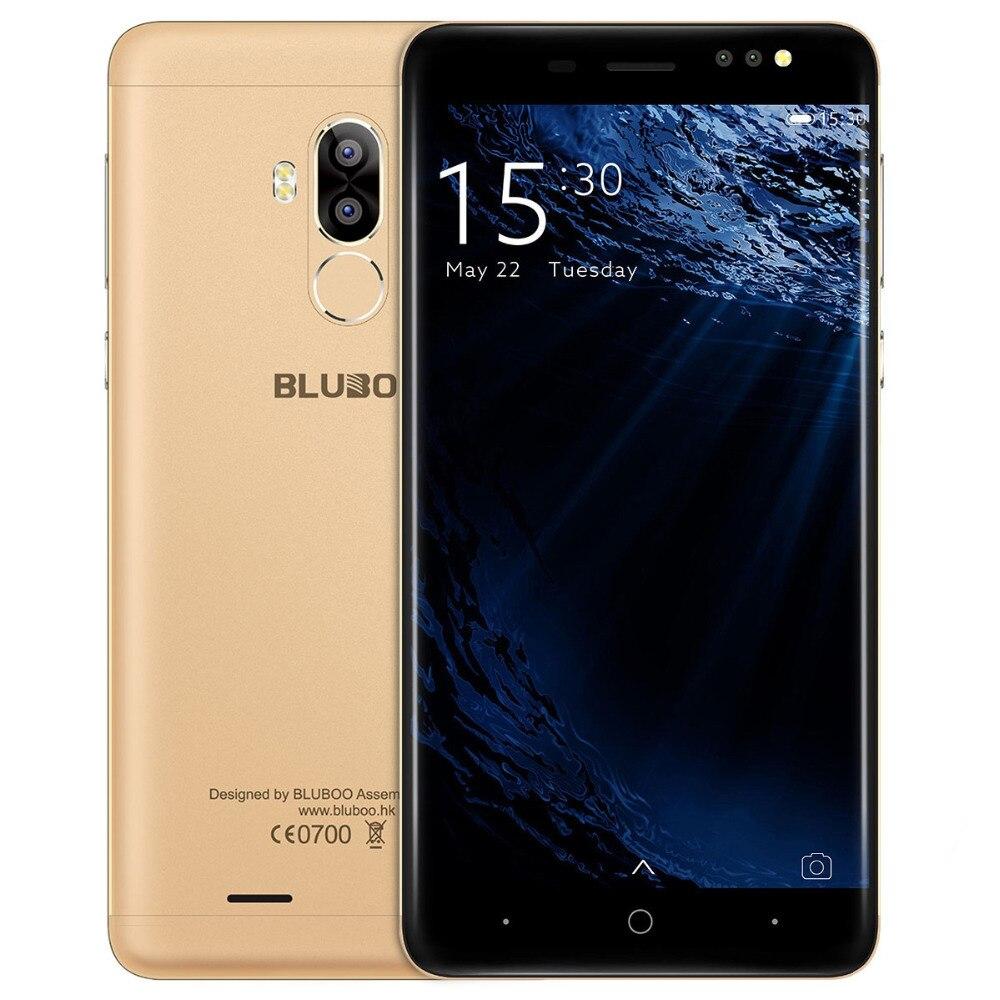 bilder für Original BLUBOO D1 5,0 Zoll Smartphone MTK6580A Quad Core 2G + 16G Android 7.0 Telefon HD 8.0MP Dual Zurück kamera Handys