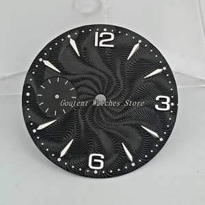 "Image 3 - 36.8 מ""מ Goutent שעון חיוג ערכת ETA 6497, שחף st36 מכאני גברים של שעון פרצופים (6 סגנונות של פרצופים)"