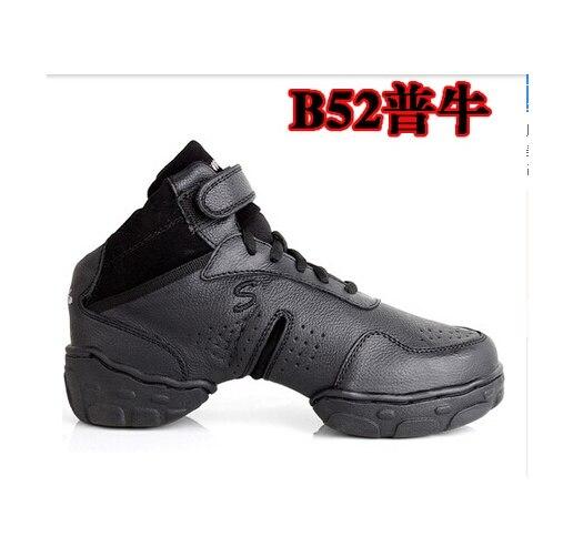 Femmes et hommes salon Salsa Jazz chaussures de danse véritable haut en cuir qualité respirant baskets de danse