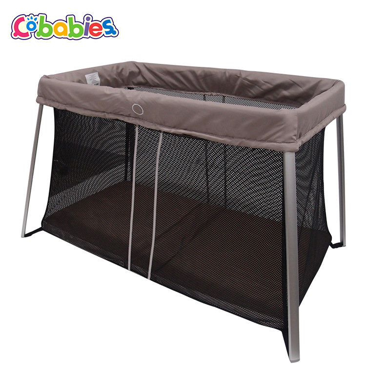 Ultra-light Square Folding Playable Bed Baby Bed With Mosquito Net Multi-function Children's Bed